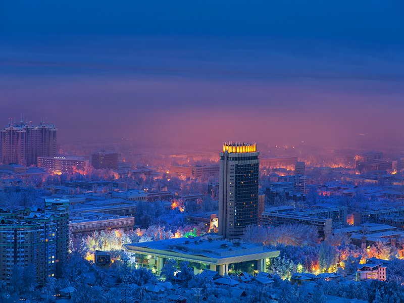 Зимой в Алматы всегда есть чем заняться!