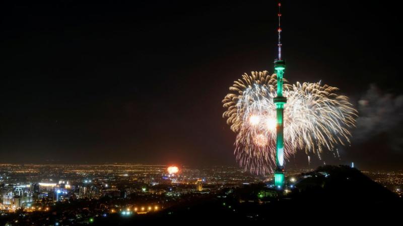 Новогодний салют отменили в Алматы