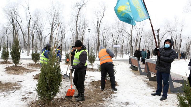 В нижней части Алматы открылся крупнейший парк «Желтоксан»