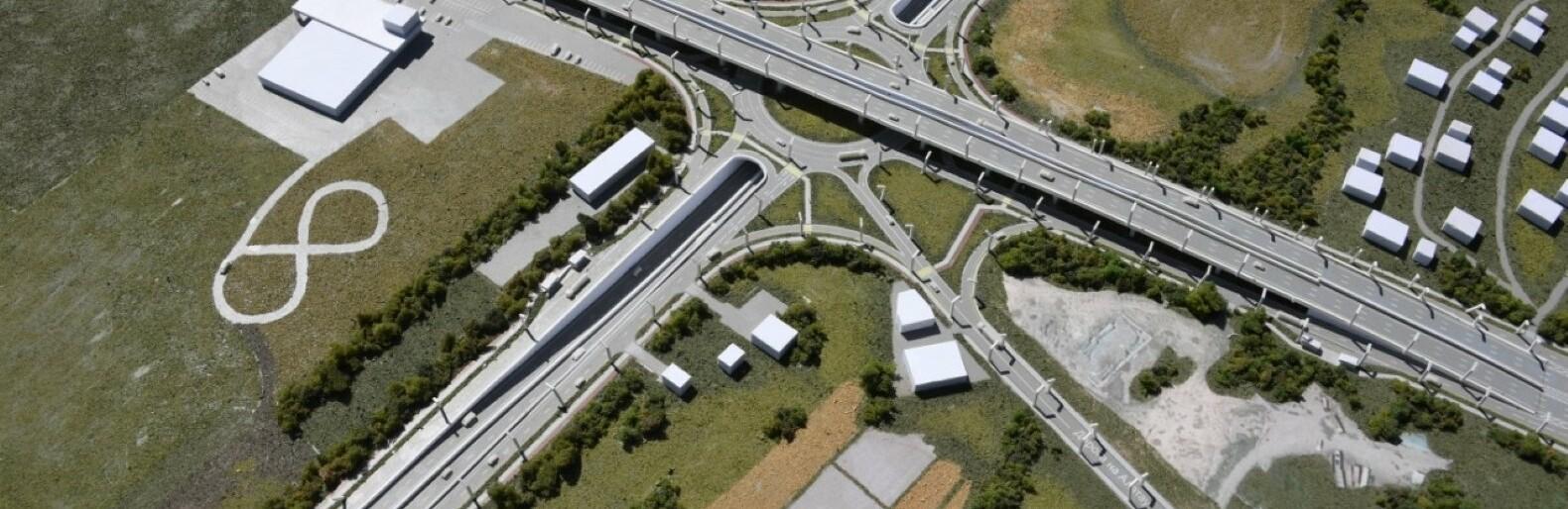 Запускать движение на развязке на аэропортовском кольце в Алматы будут поэтапно